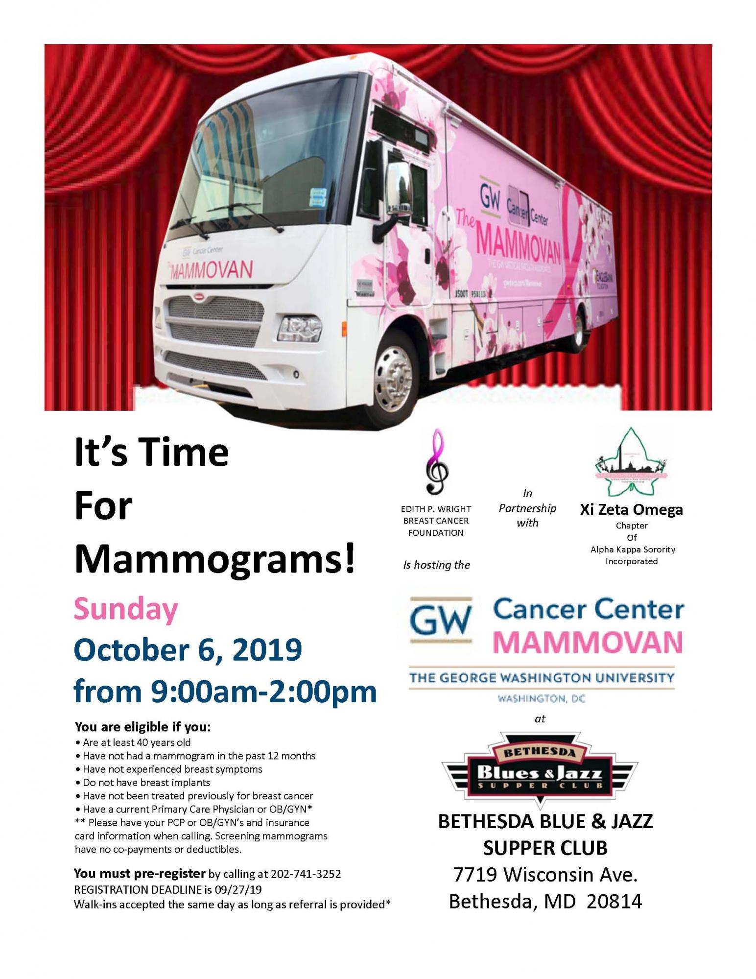 Mammogram FLyer